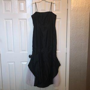 Black Mermaid Style Prom Dress
